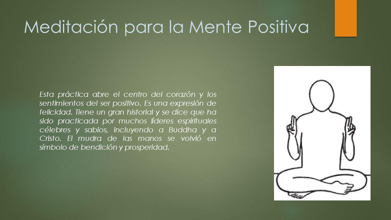 Meditación para la Mente Positiva