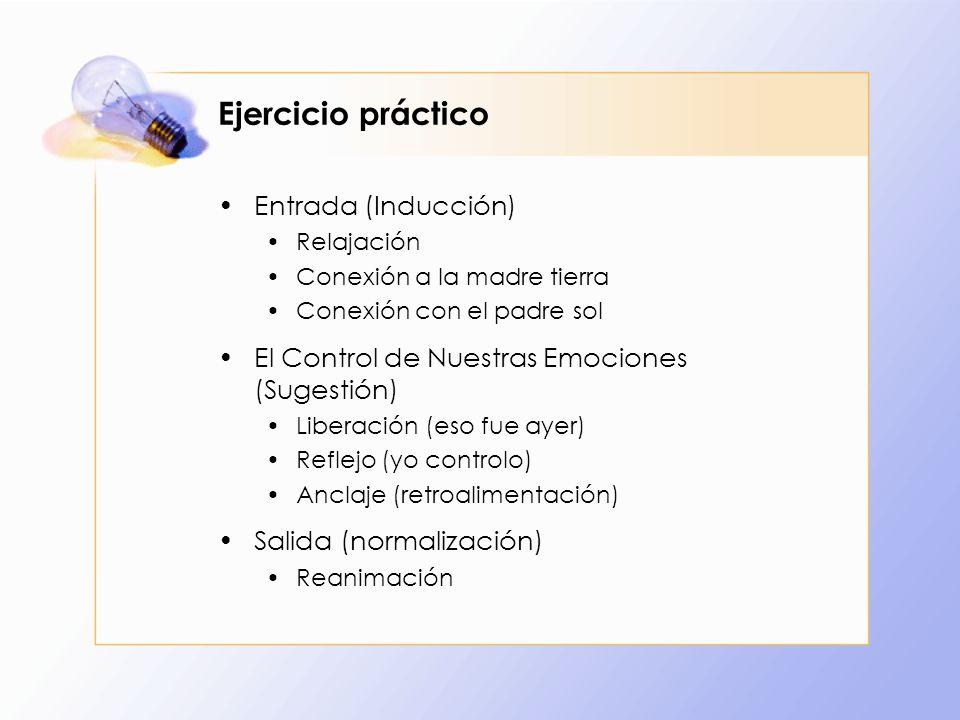 Ejercicio práctico Entrada (Inducción)