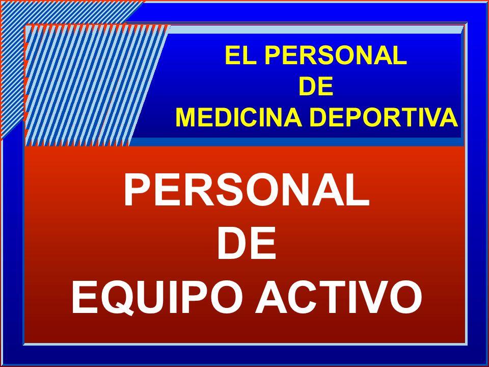 PERSONAL DE EQUIPO ACTIVO