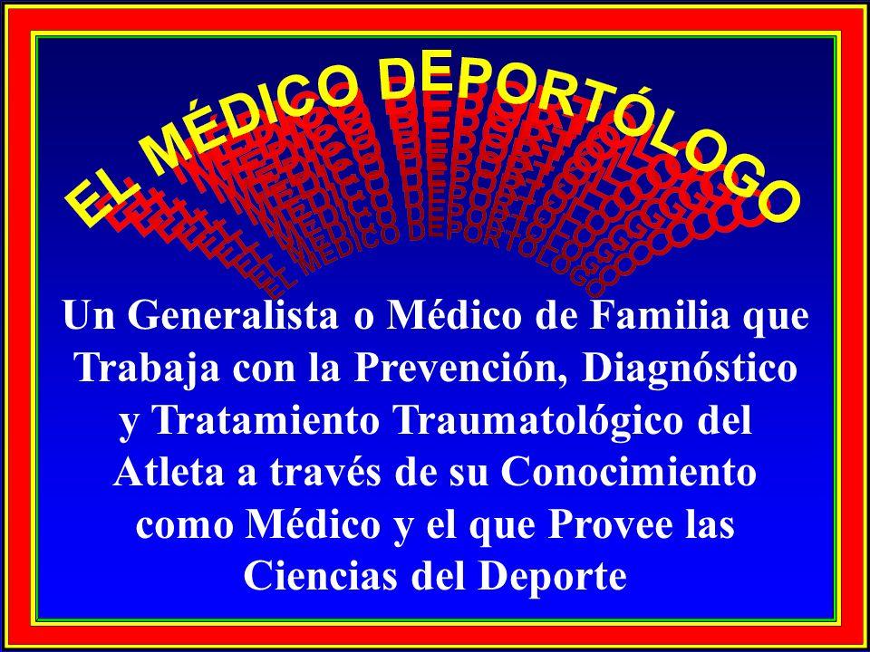 Un Generalista o Médico de Familia que