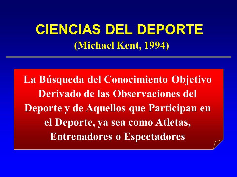 CIENCIAS DEL DEPORTE(Michael Kent, 1994)