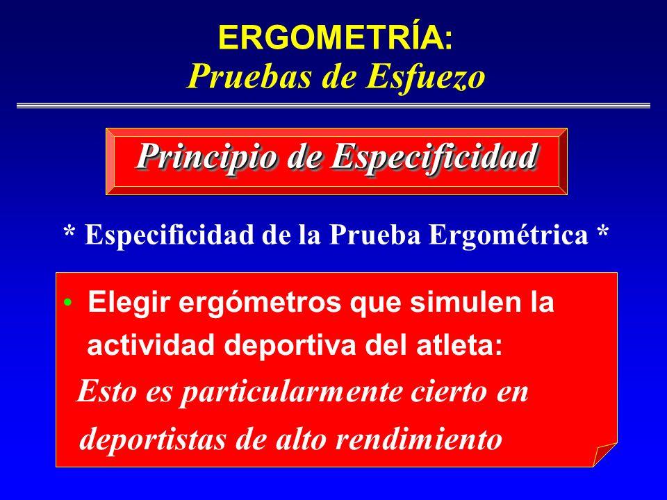 Principio de Especificidad