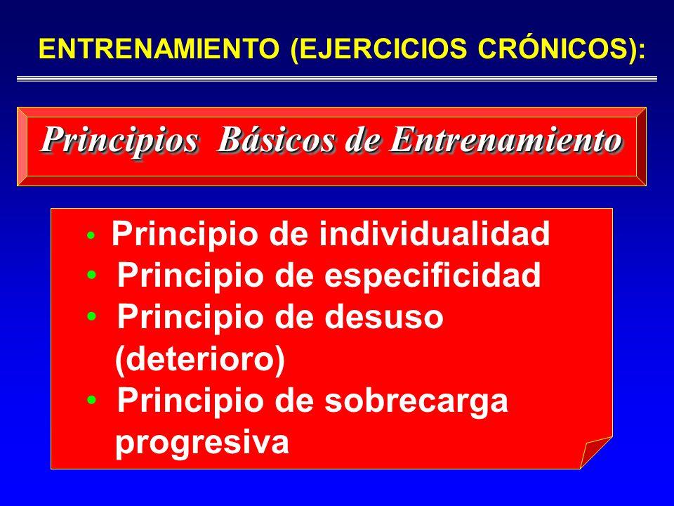 Principios Básicos de Entrenamiento