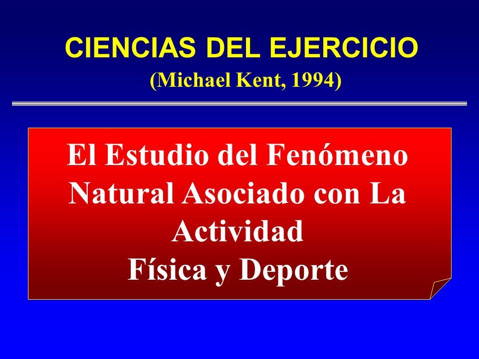 El Estudio del Fenómeno Natural Asociado con La Actividad