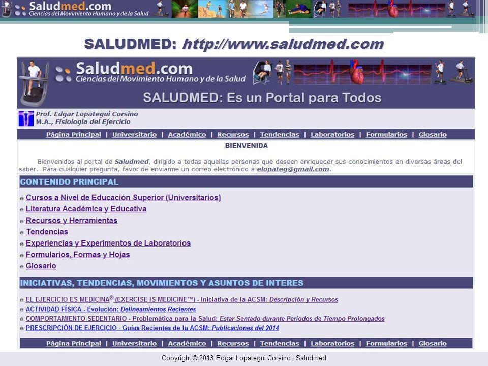 SALUDMED: http://www.saludmed.com