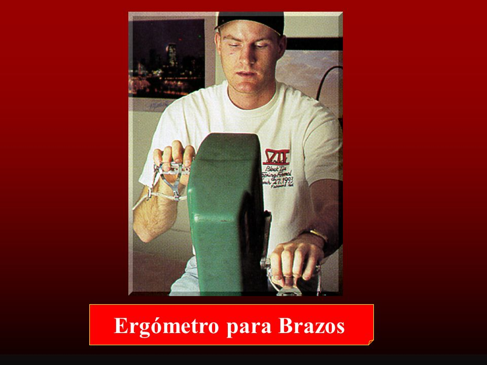 Ergómetro para Brazos