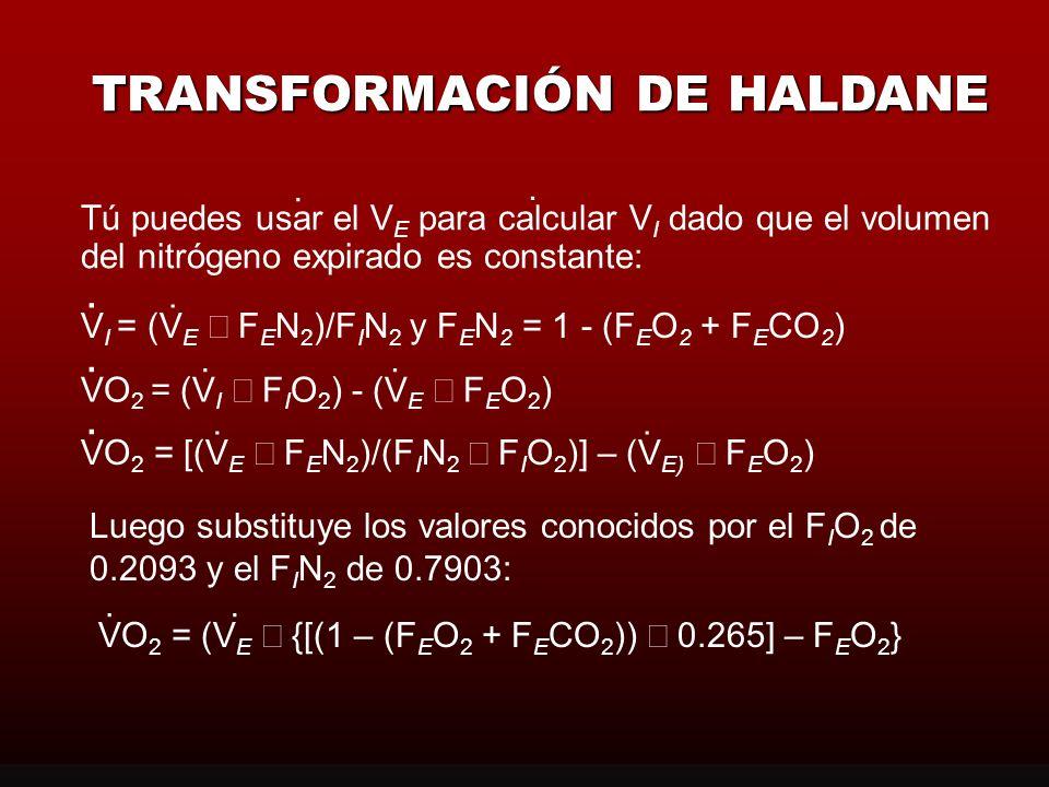TRANSFORMACIÓN DE HALDANE