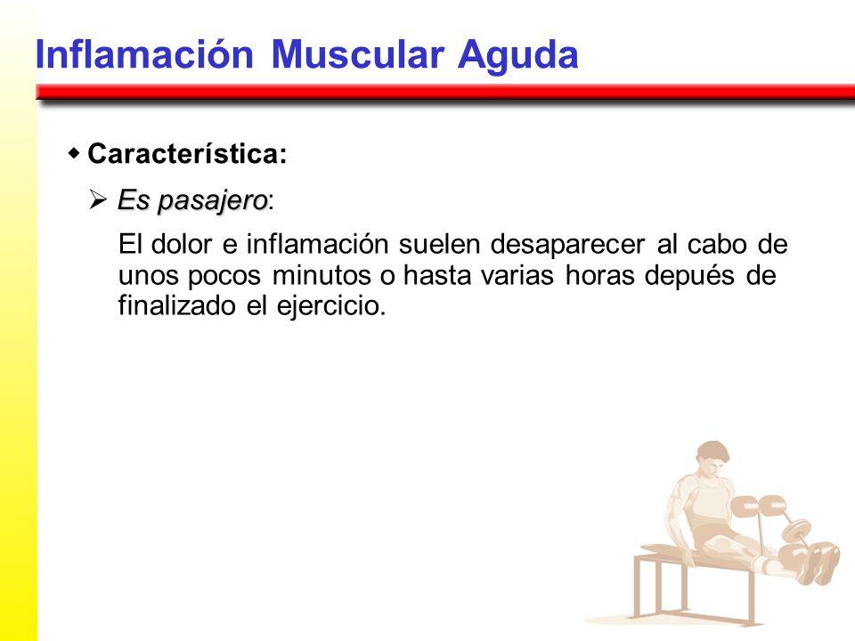 Inflamación Muscular Aguda
