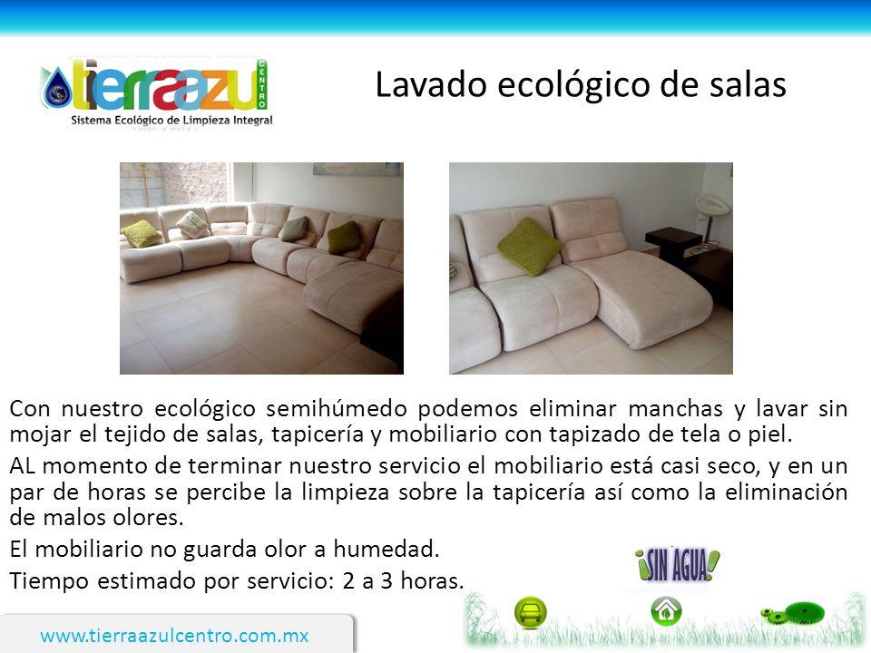 Lavado ecológico de salas
