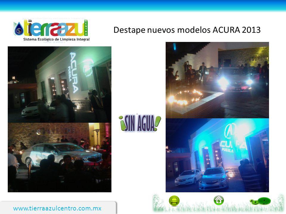 Destape nuevos modelos ACURA 2013