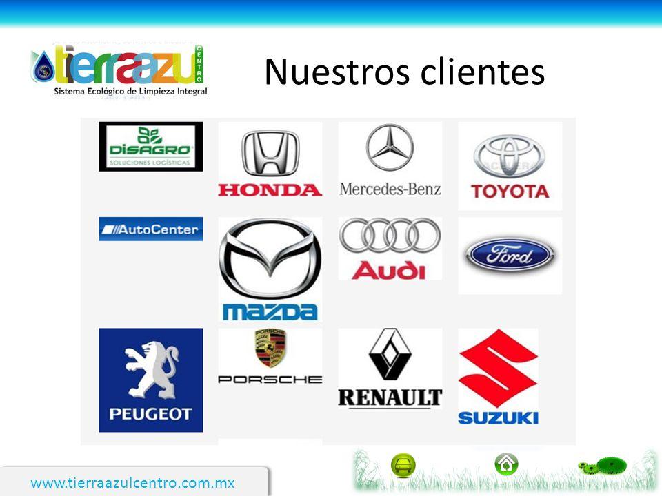 Nuestros clientes www.tierraazulcentro.com.mx