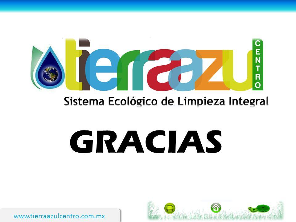GRACIAS www.tierraazulcentro.com.mx