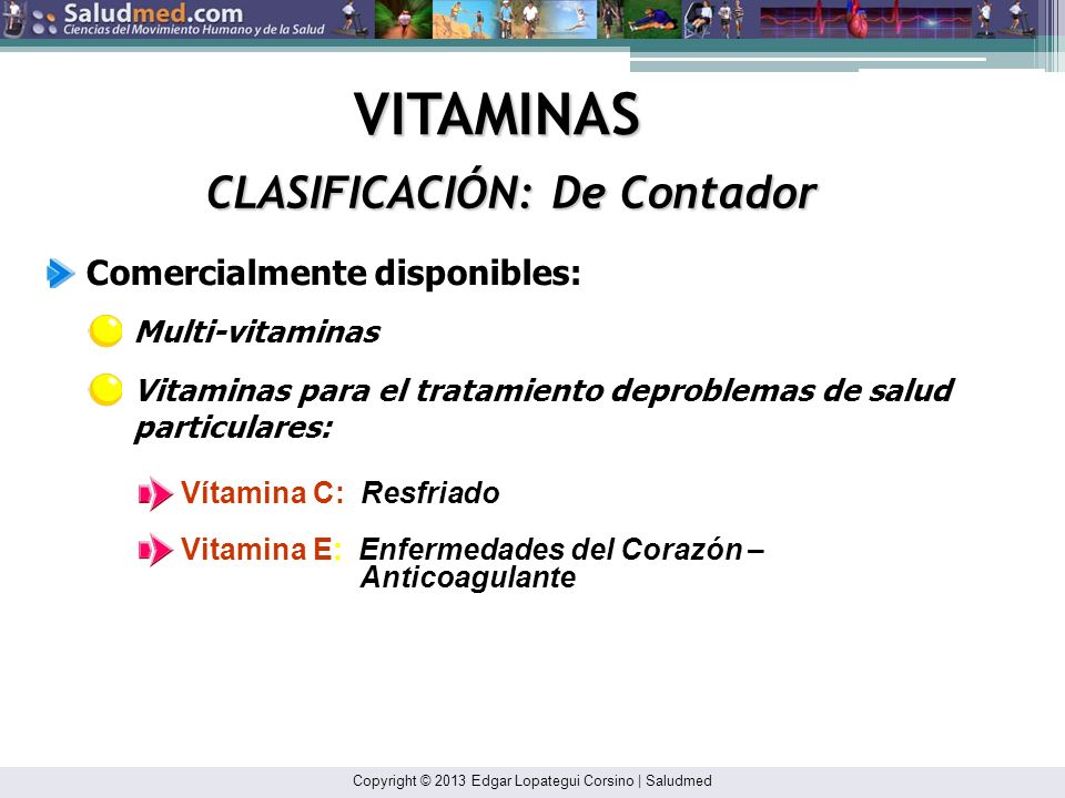 CLASIFICACIÓN: De Contador