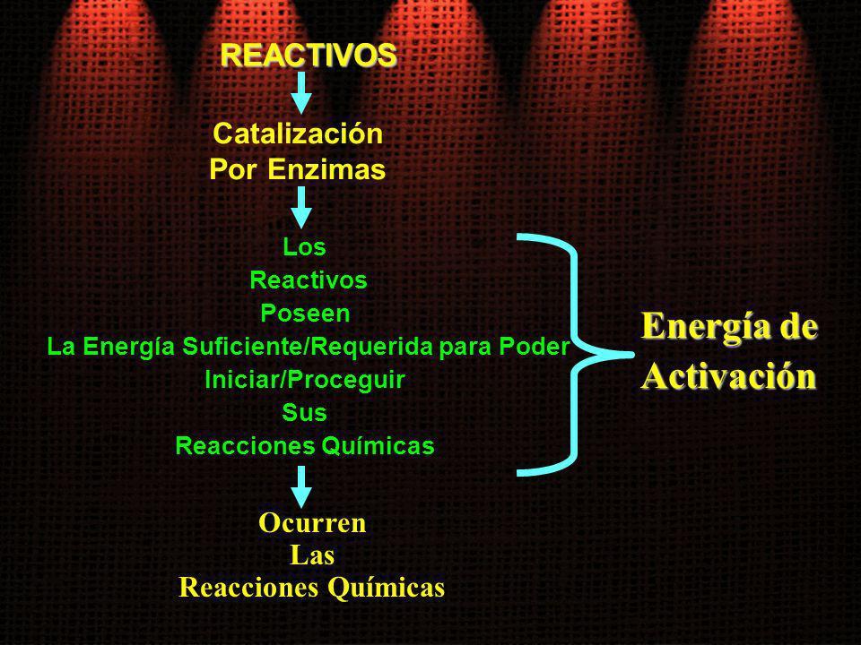 La Energía Suficiente/Requerida para Poder