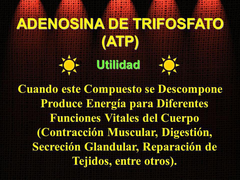 ADENOSINA DE TRIFOSFATO