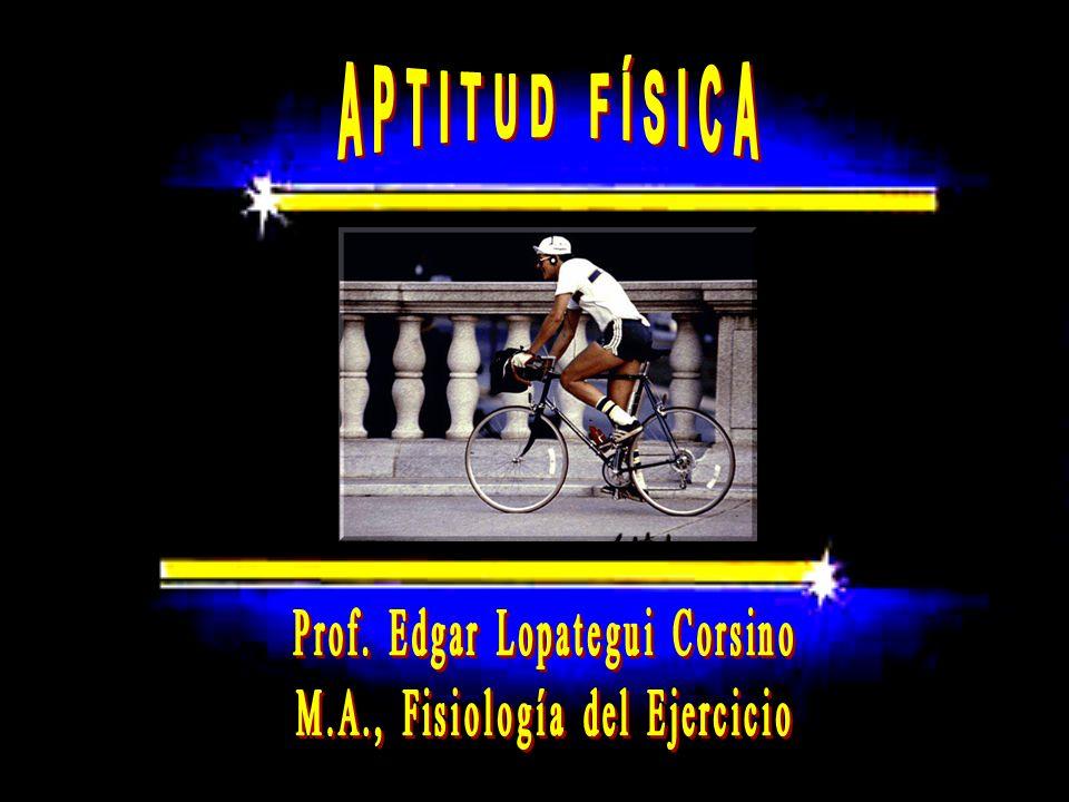 APTITUD FÍSICA Prof. Edgar Lopategui Corsino