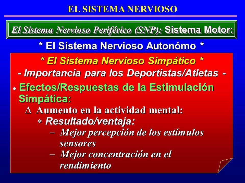 Aumento en la actividad mental: