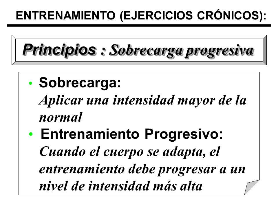 Principios : Sobrecarga progresiva