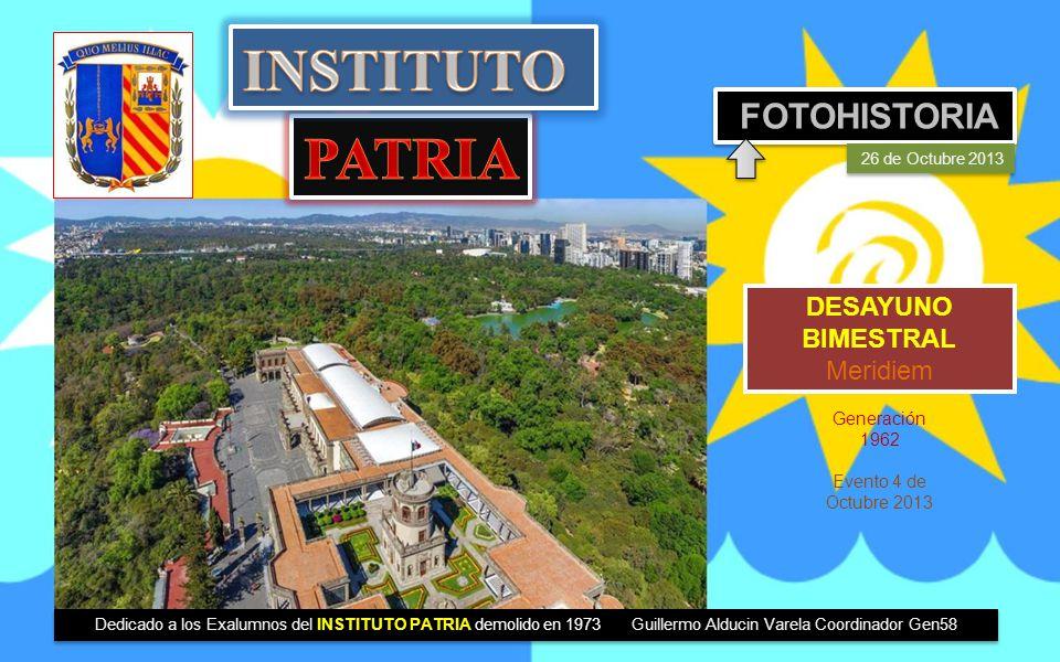 INSTITUTO PATRIA FOTOHISTORIA DESAYUNO BIMESTRAL Meridiem