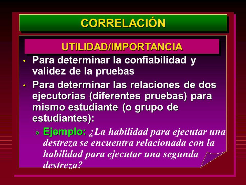 UTILIDAD/IMPORTANCIA