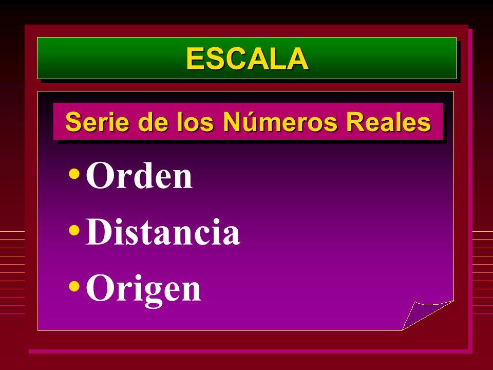 Serie de los Números Reales