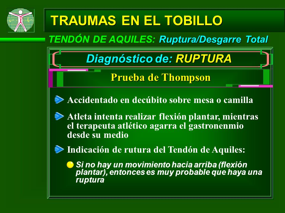 Diagnóstico de: RUPTURA