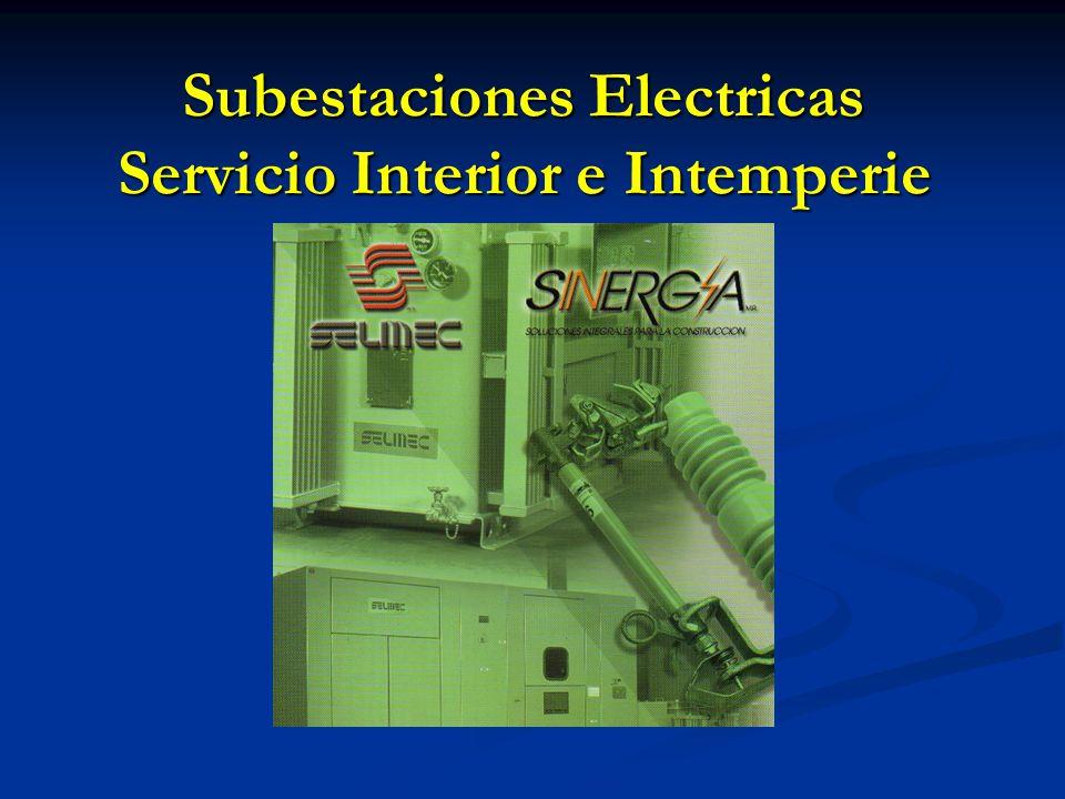 Subestaciones Electricas Servicio Interior e Intemperie