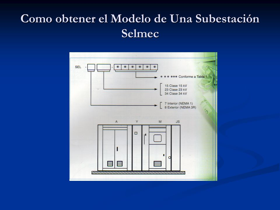 Como obtener el Modelo de Una Subestación Selmec