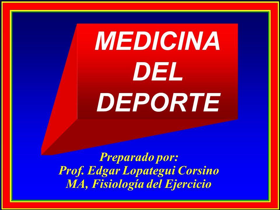 Prof. Edgar Lopategui Corsino MA, Fisiología del Ejercicio