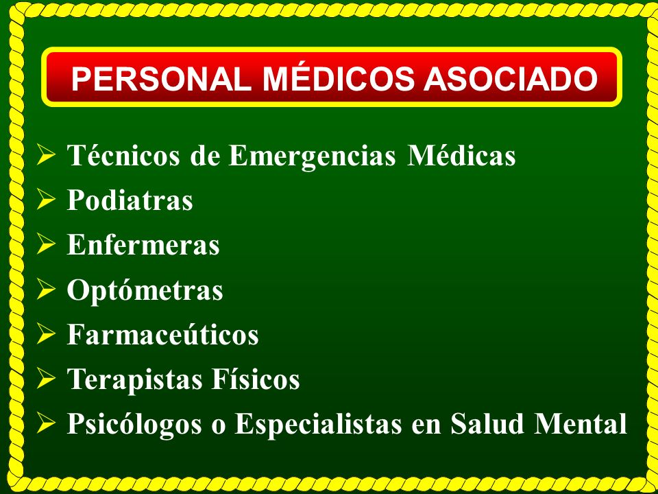 PERSONAL MÉDICOS ASOCIADO