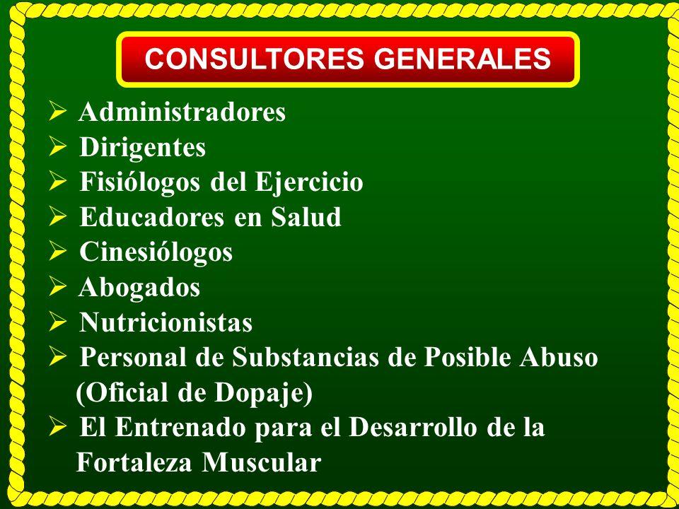 CONSULTORES GENERALES
