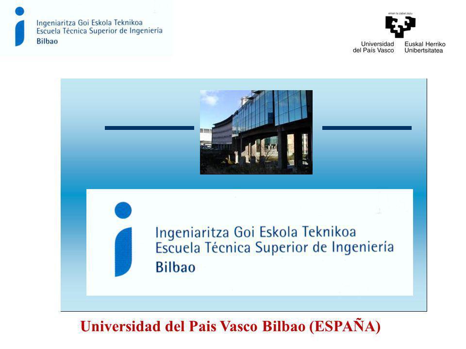 Universidad del Pais Vasco Bilbao (ESPAÑA)