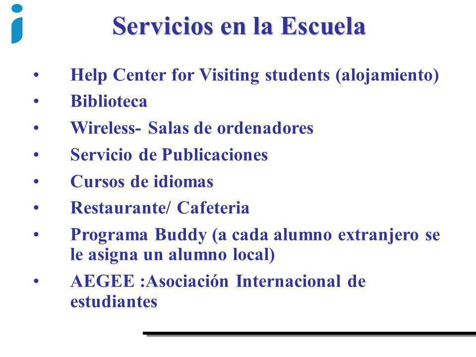 Servicios en la Escuela