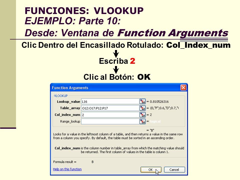 Clic Dentro del Encasillado Rotulado: Col_Index_num