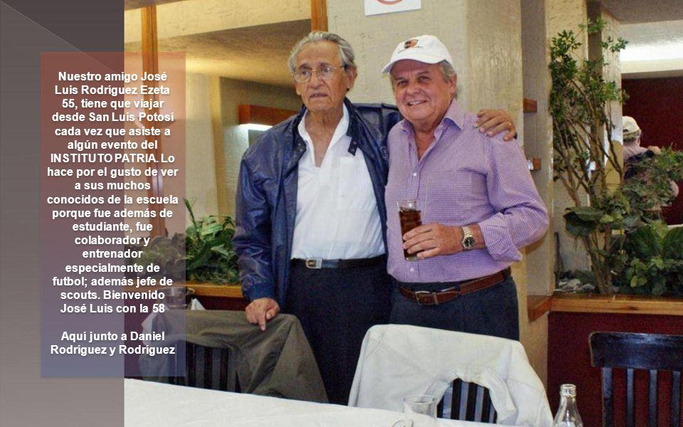Aquí junto a Daniel Rodríguez y Rodríguez