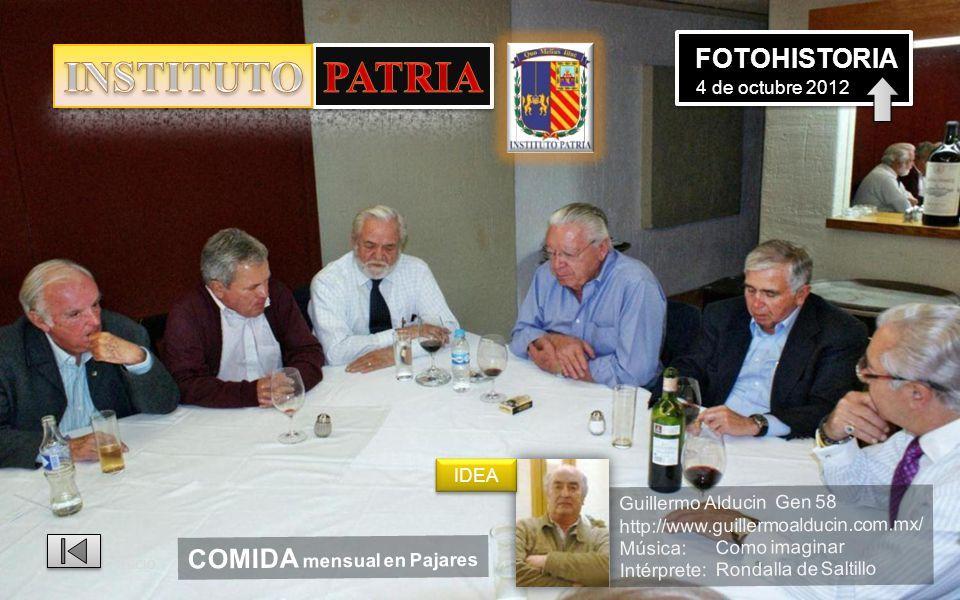 INSTITUTO PATRIA FOTOHISTORIA 4 de octubre 2012