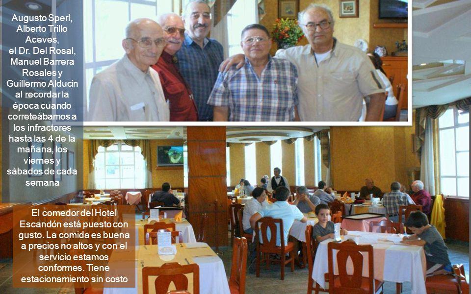 Augusto Sperl, Alberto Trillo Aceves,