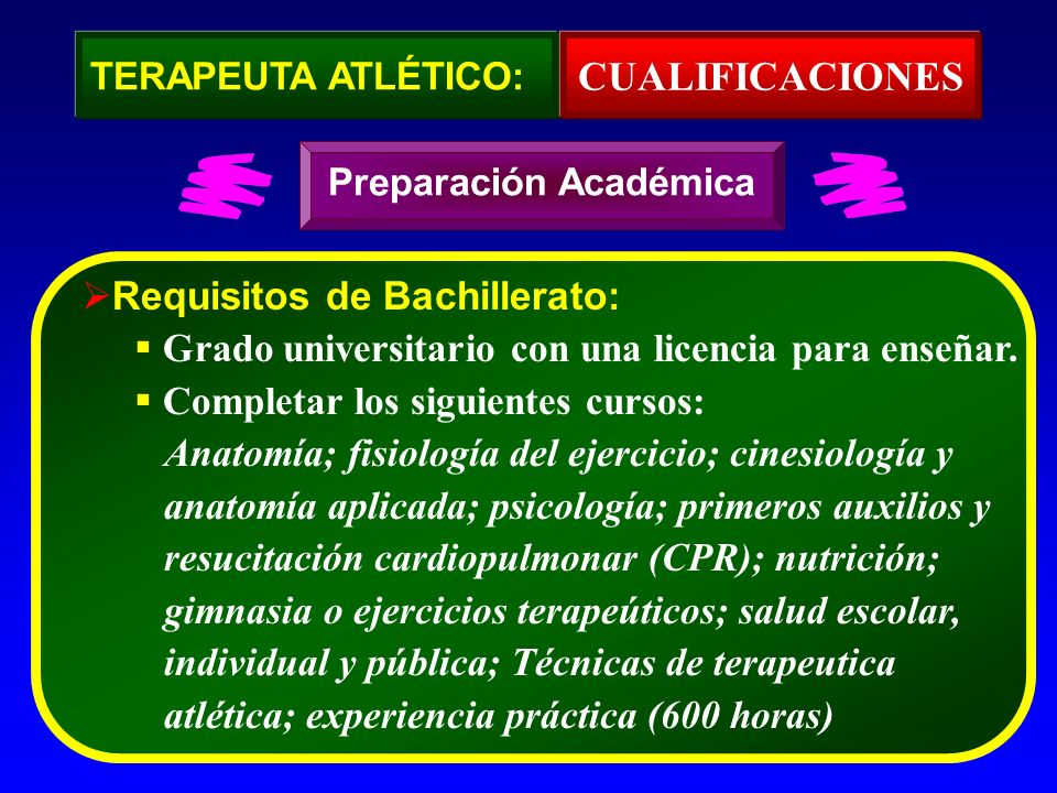 CUALIFICACIONES Requisitos de Bachillerato: