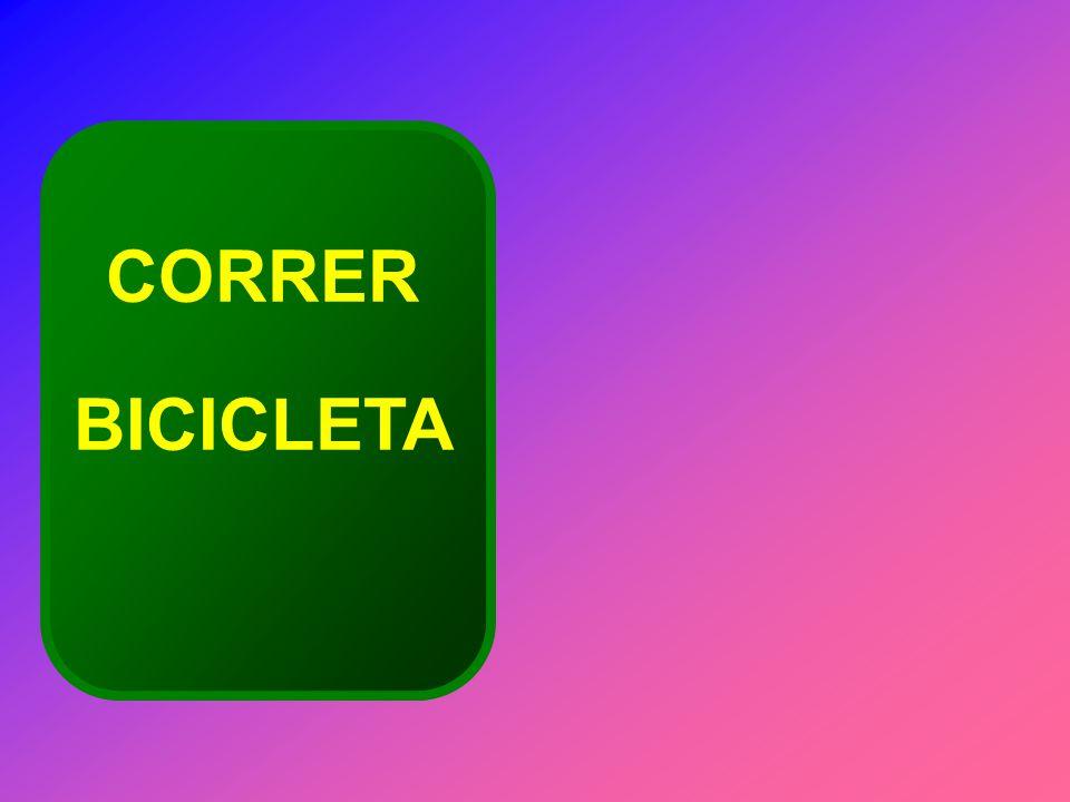 CORRER BICICLETA