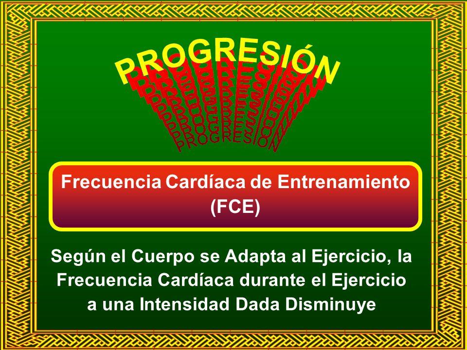 Frecuencia Cardíaca de Entrenamiento (FCE)