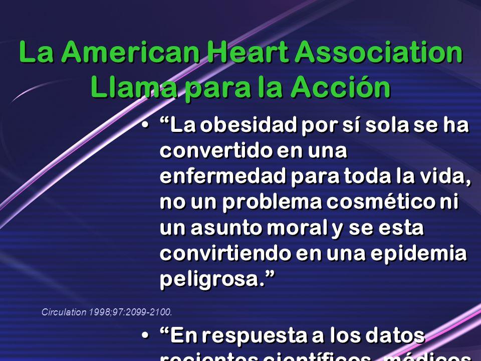 La American Heart Association Llama para la Acción
