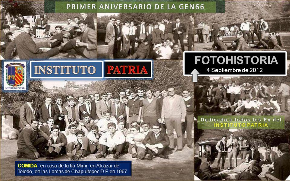 INSTITUTO PATRIA FOTOHISTORIA 4 Septiembre de 2012