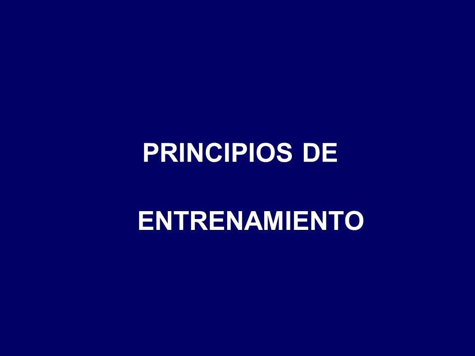 PRINCIPIOS DE ENTRENAMIENTO