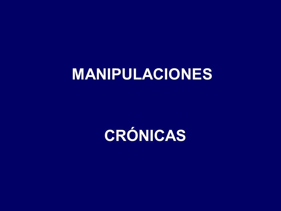 MANIPULACIONES CRÓNICAS