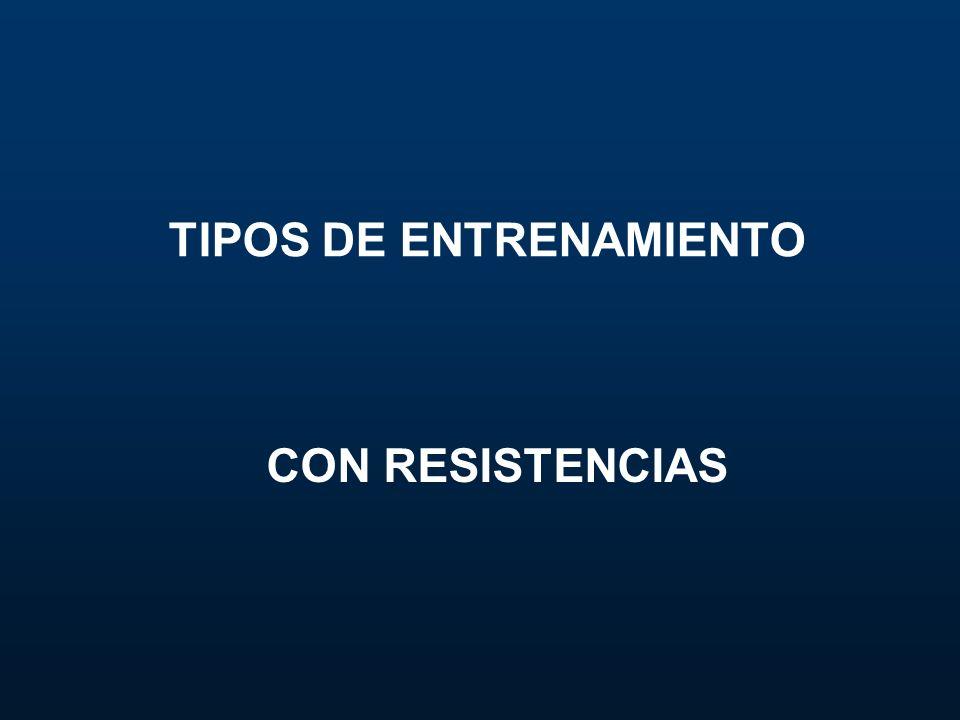 TIPOS DE ENTRENAMIENTO