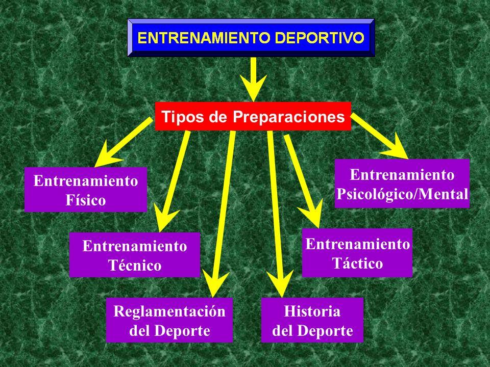 Tipos de Preparaciones