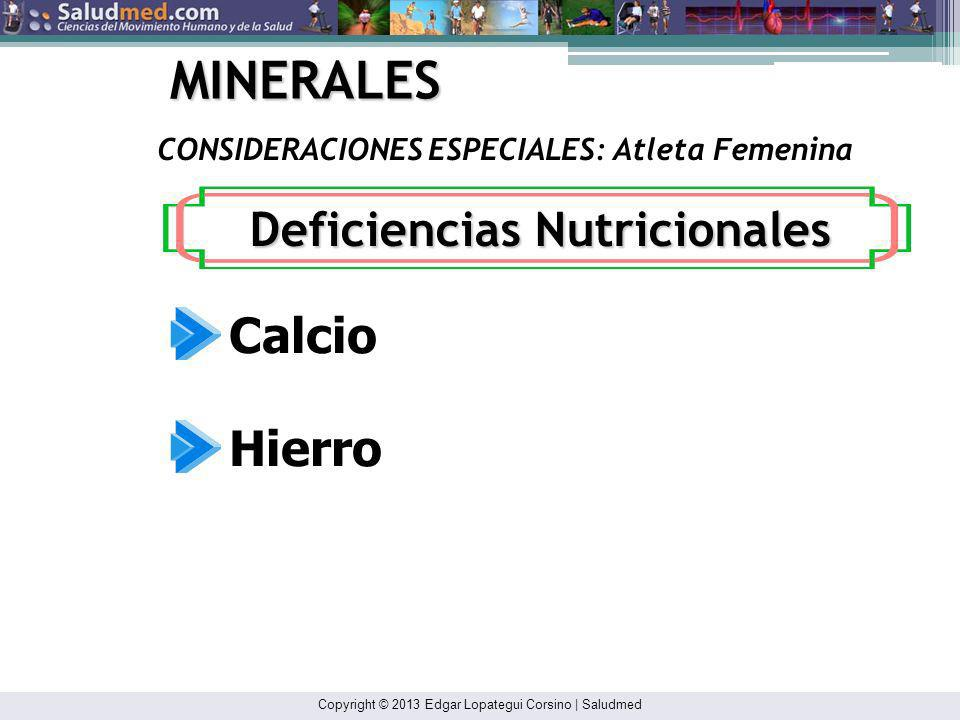 Deficiencias Nutricionales