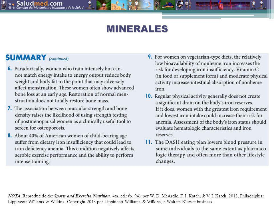 MINERALES