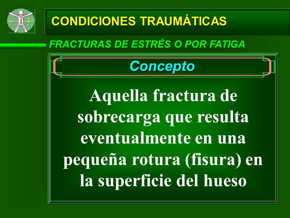 CONDICIONES TRAUMÁTICAS
