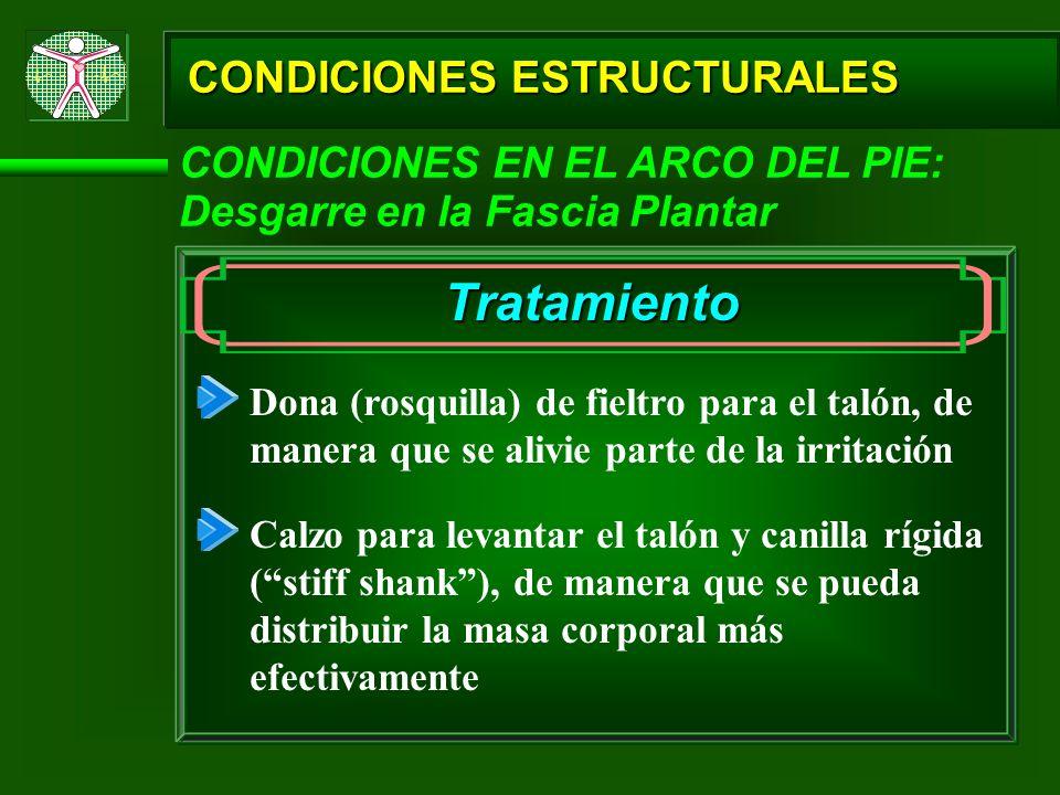 Tratamiento CONDICIONES ESTRUCTURALES